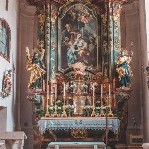 noch Baustelle...aber es werden tolle Museumsräume für St. Peter