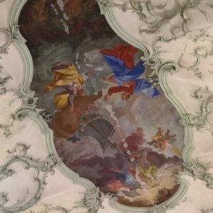 Renovierung Stiftskirche: Schäden Deckengewölbe
