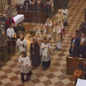 nach dem Konventamt in der Sakristei