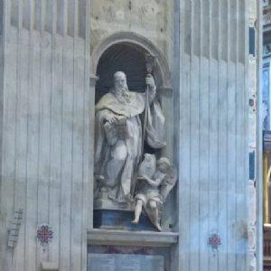 in der Abteikirche von Niederalteich
