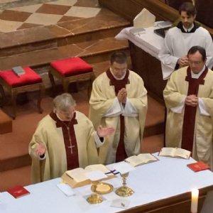 Abt Gerhard von Admont beim Hochgebet © Erzabtei