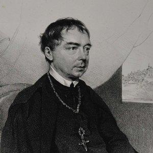 Abt Albert Nagnzaun (1777-1856) wurde am 15. Dezember 1818 zum Abt von St. Peter in Salzburg gewählt. © Stiftsarchiv