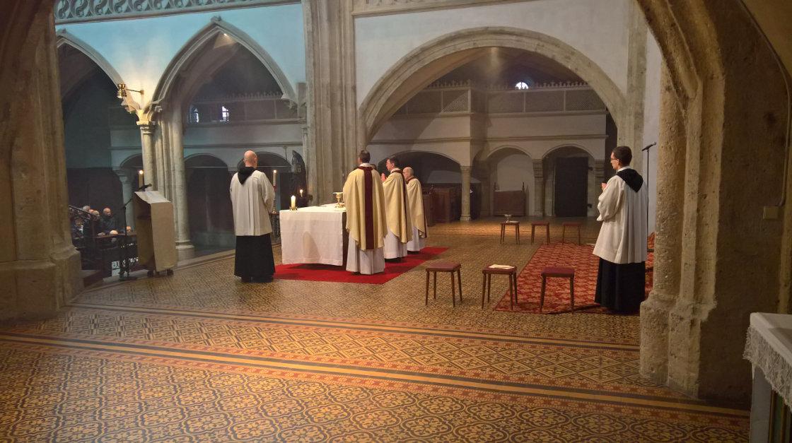 Eucharistiefeier © Erzabtei