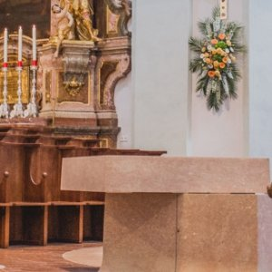 Unschuldige Kinder - Flucht nach Ägypten (Krippe in St. Michael)