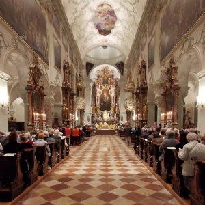 Gottesdienst in der Stiftskirche St. Peter 2019 © Erzabtei