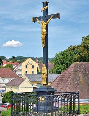 Eisernes Kreuz am Vorplatz 1843