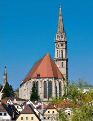 Stadtpfarrkirche Steyr, Ansicht vom Osten