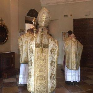 Einzug beim Pontifikalamt zu Christi Himmelfahrt © Erzabtei