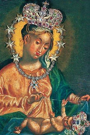 Das Gnadenbild von Maria Plain