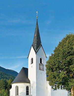 Pfarrkirche St. Margaretha in Vorderthiersee