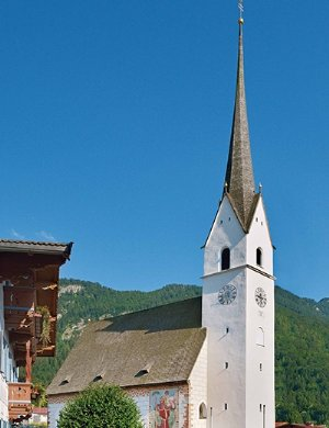 Pfarrkirche St. Ägidius, Außenansicht