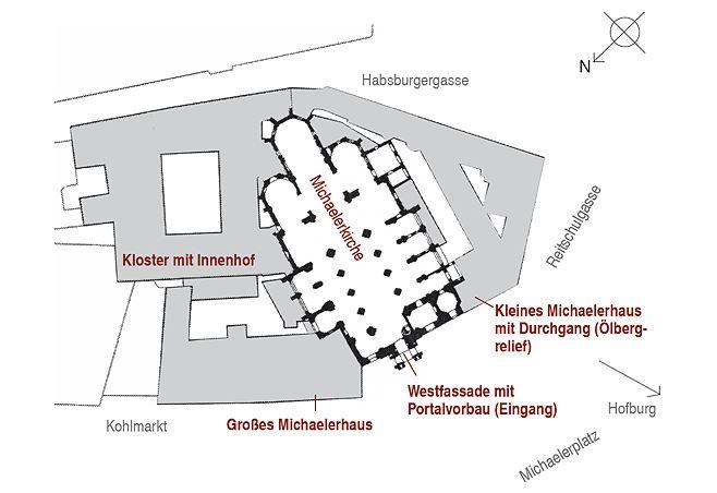 Gesamter Michaelerkomplex, Wien, I. Bezirk