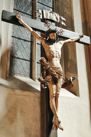 Christus am Kreuz, in der Kreuzkapelle, um 1510/15