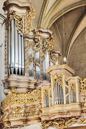 Barocke Orgel von Johann David Sieber, 1714