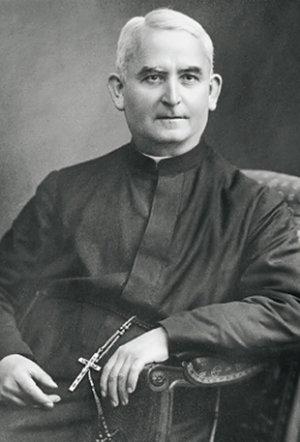 P. Dr. Theophilus Muth SDS, erster salvatorianischer Pfarrer von St. Michael