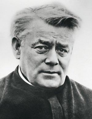 Pater Jordan, vor seiner Abreise in die  Schweiz, 1915