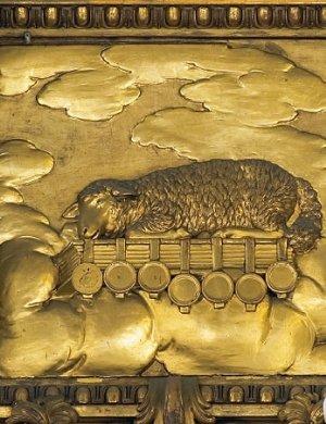 Das Lamm Gottes über dem Tabernakel, 1782, von Benedikt Henrici