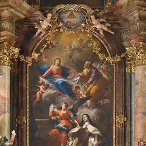 Altarbild Verzückung der hl. Teresa von Avila