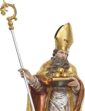 Statue des Heiligen Nikolaus von Myra