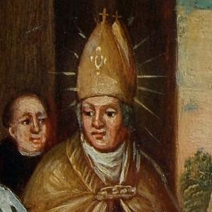 Rupert gründet St. Peter, Franz Xaver König, 18. Jahrhundert Mitte, M 1080  © Kunstsammlungen der Erzabtei St. Peter
