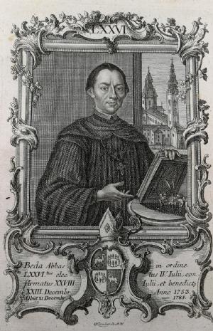 Abt Beda Seeauer (1772) © Stiftsarchiv