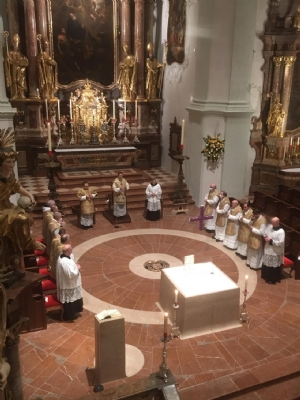 Hochfest des Heimgangs unseres heiligen Ordensvaters Benedikt 2021 - 1 © Erzabtei