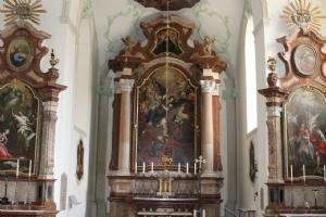 Kirche St. Michael Innenaufnahme © Erzabtei